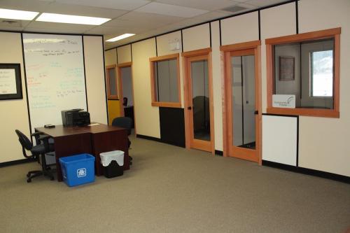 Desk Space.