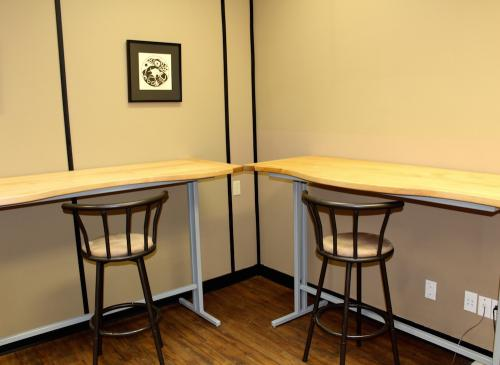 Standing/Sitting Desks.